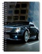 Cadillac Spiral Notebook
