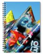 Cadillac Ranch 2 Spiral Notebook