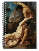 Cain Slaying Abel Spiral Notebook
