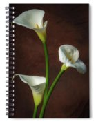 Cala Lilies Spiral Notebook