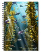 California Kelp Forest Spiral Notebook