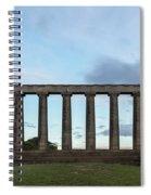 Calton Hill - Edinburgh Spiral Notebook