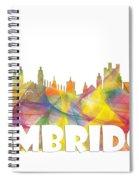 Cambridge England Skyline Spiral Notebook