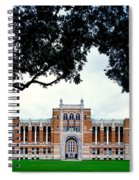 Campus Of Rice University Spiral Notebook