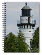 Cana Island Lighthouse Spiral Notebook