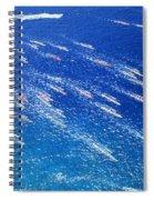 Canoe Race Spiral Notebook