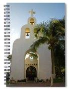 Capilla De Nuestra Senora Del Carmen 2 Spiral Notebook