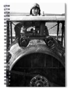 Captain Eddie Rickenbacker  Spiral Notebook