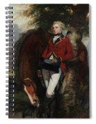 Captain George K. H. Coussmaker Spiral Notebook