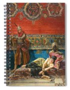 Captive In The Harem Spiral Notebook