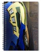Car Reflection 10 Spiral Notebook