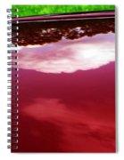 Car Reflection 4 Spiral Notebook