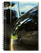 Car Reflection 8 Spiral Notebook