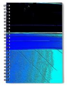 Car Reflection Bump Map 5 Spiral Notebook
