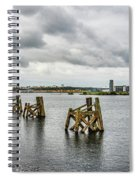 Cardiff Bay Panorama Spiral Notebook