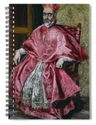 Cardinal Fernando Nino De Guevara Spiral Notebook