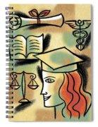 Career Path Spiral Notebook