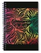 Caregiver's Rock Spiral Notebook