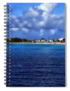 Caribbean Sea And Beach Spiral Notebook