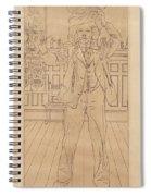 Carl Larsson Spiral Notebook