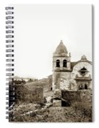 Carmel Mission By A.j. Perkins 1880 Spiral Notebook