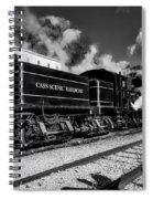 Cass Scenic Railroad Spiral Notebook