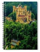 Castle Hohenschwangau Spiral Notebook