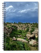 Castlewood Canyon And Rain Spiral Notebook