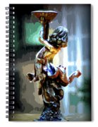 Catching Rain Spiral Notebook
