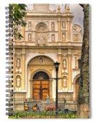 Catedral Antigua Guatemala - Guatemala Vii Spiral Notebook