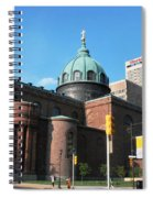 Cathedral Basilica Of Saints Peter And Paul Philadelphia Spiral Notebook