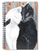 Cats  In Love Spiral Notebook