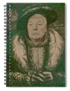 Celebrity Etchings - Donald Trump Spiral Notebook
