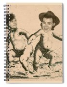 Celebrity Etchings - One Direction   Spiral Notebook