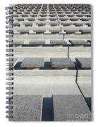 Cement Seats Spiral Notebook
