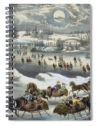 Central Park In Winter Spiral Notebook