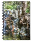 Chantara Waterfalls - Cyprus Spiral Notebook