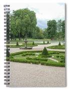 Chantilly France Street Scenes Spiral Notebook