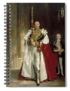 Charles Stewart Sixth Marquess Of Londonderry Spiral Notebook