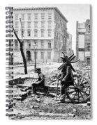 Charleston Ruins, 1865 Spiral Notebook