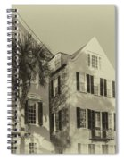 Charleston Style Houses Spiral Notebook