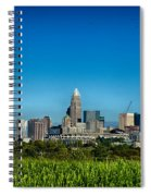 Charlotte North Carolina Cityscape Of Downtown Spiral Notebook