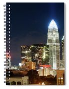 Charlotte Skylilne At Night Spiral Notebook