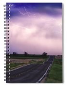 Chasing The Storm - County Rd 95 And Highway 52 - Colorado Spiral Notebook
