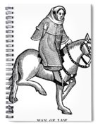 Chaucer: The Man Of Law Spiral Notebook