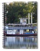 Chautauqua Belle On Lake Chautauqua Spiral Notebook