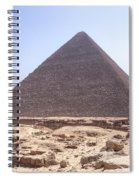 Cheops Pyramid - Egypt Spiral Notebook