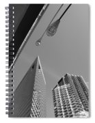 Chicago Cityscape Spiral Notebook