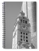 Chicago Clocktower Spiral Notebook