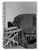 Chicago Pile-1, Scale Model Spiral Notebook